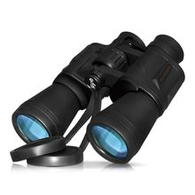 10X50 Powerful Binoculars Full-size for Bird Watching Sightseeing Hunting Telescope Wildlife Outdoor Sports
