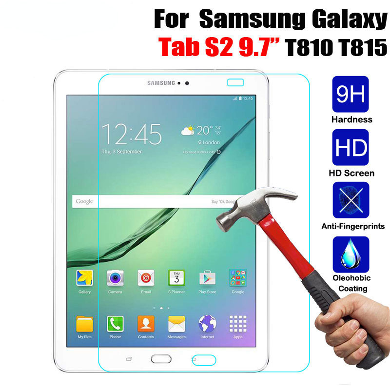 HD Tempered Glass Screen Protector For Samsung Tab A 10.1 P580 N// Tab S3 8.0//9.7