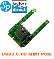 Nuovo mini pcie a usb 3.0 adapter converter, usb3.0 per mini pci e pcie express card spedizione gratuita cina post spca025