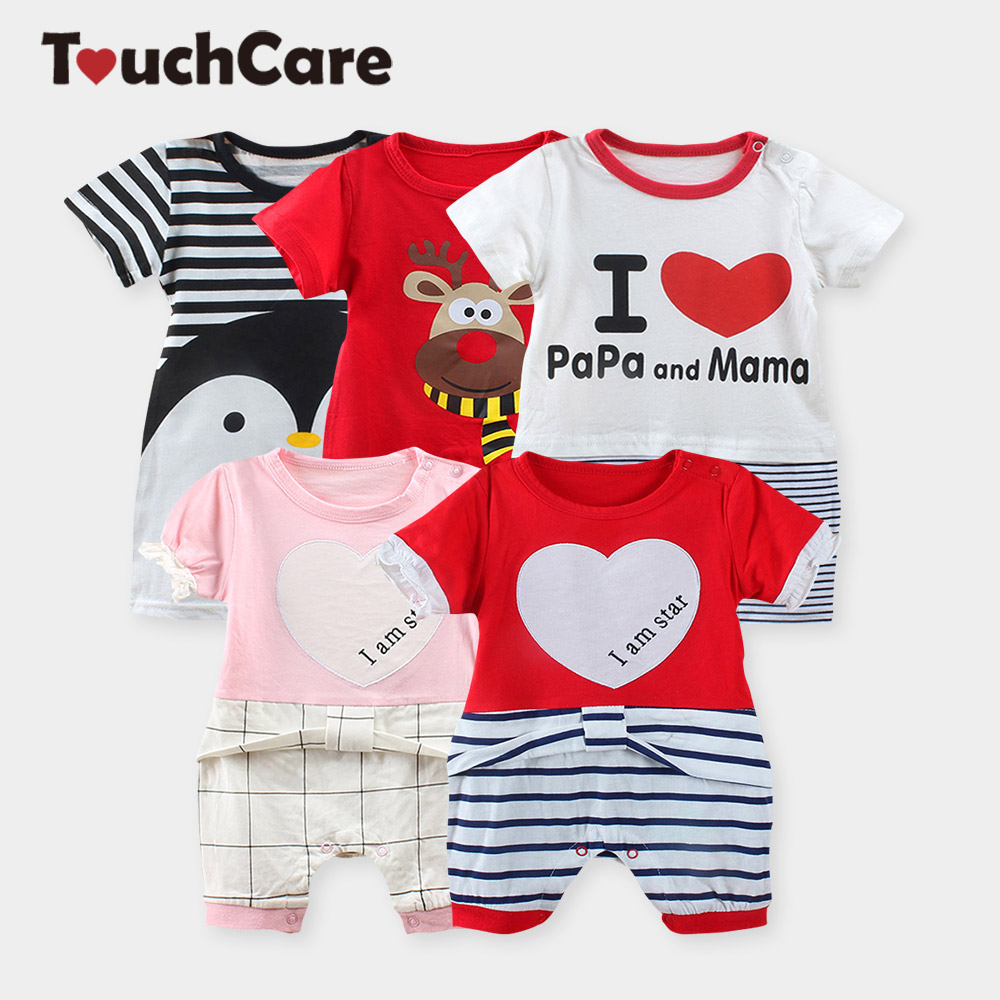 Clearance  Summer Bowknot Newborn Baby Boy Girl Rompers Flying Sleeve Baby Jumpsuit Toddler Baby Romper Letters Baby Clothes newborn baby rompers baby clothing 100% cotton infant jumpsuit ropa bebe long sleeve girl boys rompers costumes baby romper