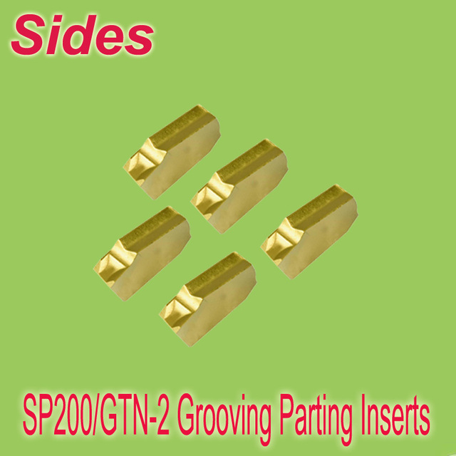 Free Shiping  SP200 GTN Style Part-off - Parting Insert  2.1mm CVD Coated General Use