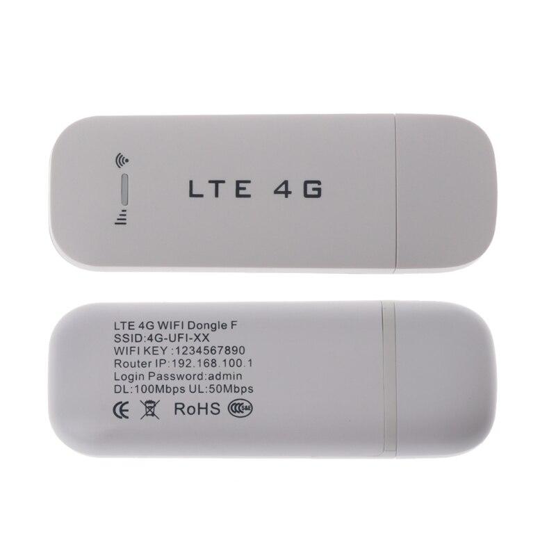 4g LTE USB Modems Adaptateur Réseau Avec WiFi Hotspot SIM Carte 4g Sans Fil Routeur Modems