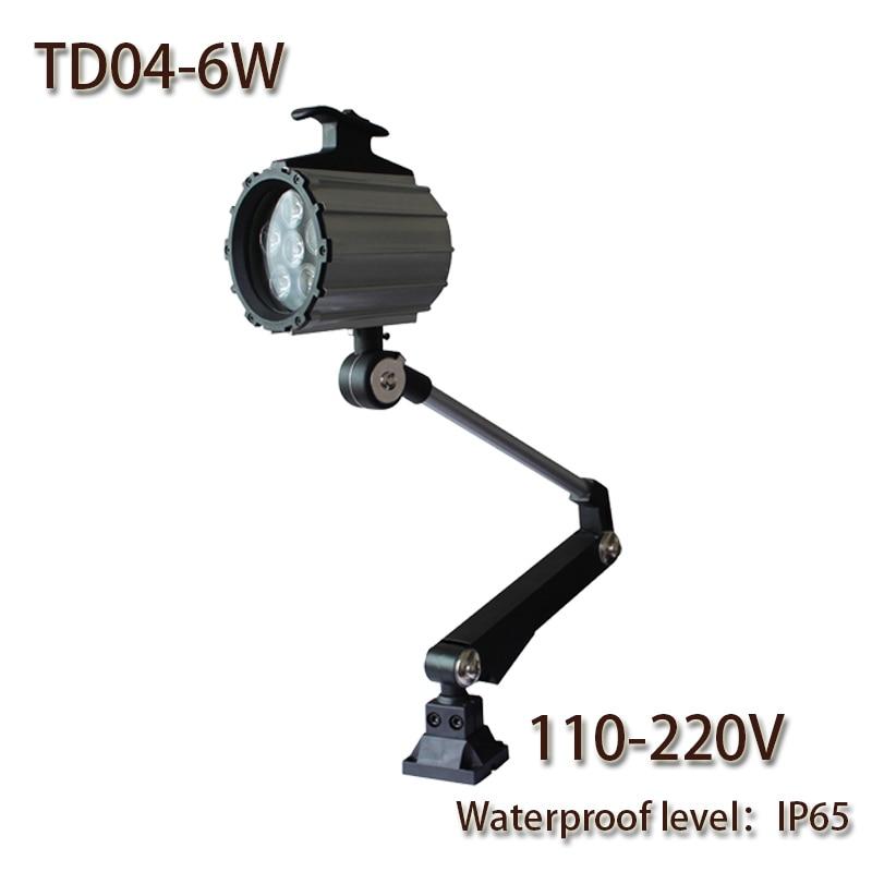 HNTD 6W AC 110-240V TD04 LED Brazo largo plegable Luz de trabajo - Iluminación LED - foto 1