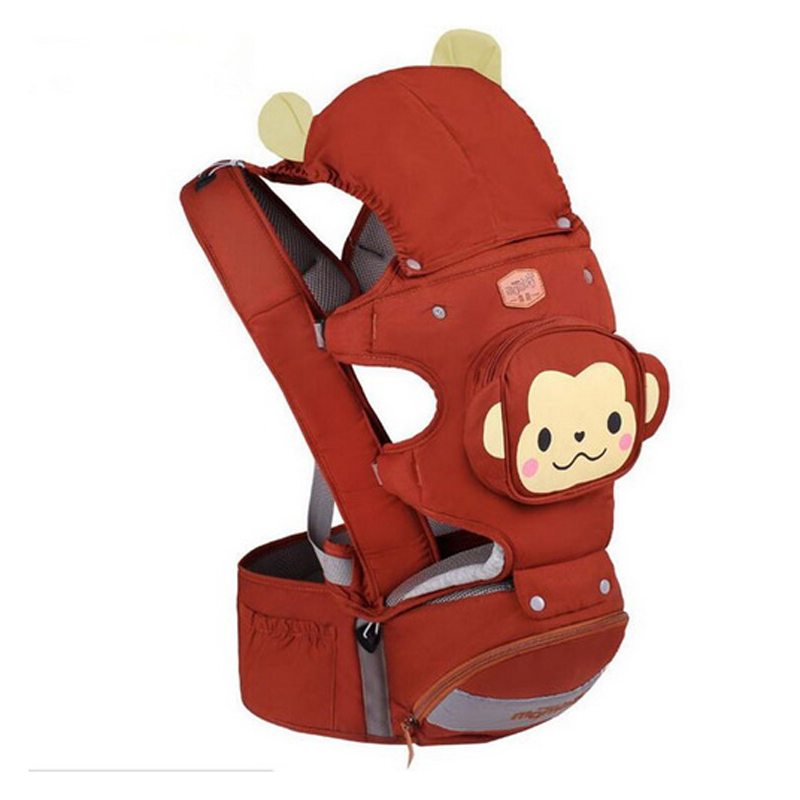 multifunction Hipseat Kangaroo Baby Carrier Bag Basket Backpack 4 in 1 Infant Baby Care with Seat Front Facing 3~36 Month Strech hot baby carrier infant hipseat backpack children s backpack multifunction slings for babies cotton baby hipseat mochilas pt427