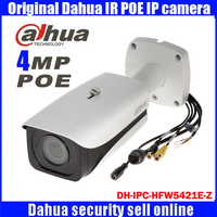 DH IPC HFW5421E Z Dahua Original Waterproof Bullet Infrared Night Vision 50M Camera HD 4MP Network