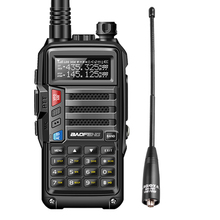 2020 Bộ Đàm Baofeng UV S9 8W Mạnh Mẽ VHF/UHF136 174Mhz & 400 520 MHz 2 Băng Tần 10Km Dày Pin bộ Đàm Đài Phát Thanh CB + NA 701