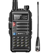 2020 BAOFENG UV S9 8W Potente VHF/UHF136 174Mhz & 400 520Mhz Dual Band 10KM Addensare batteria walkie Talkie CB Radio + NA 701
