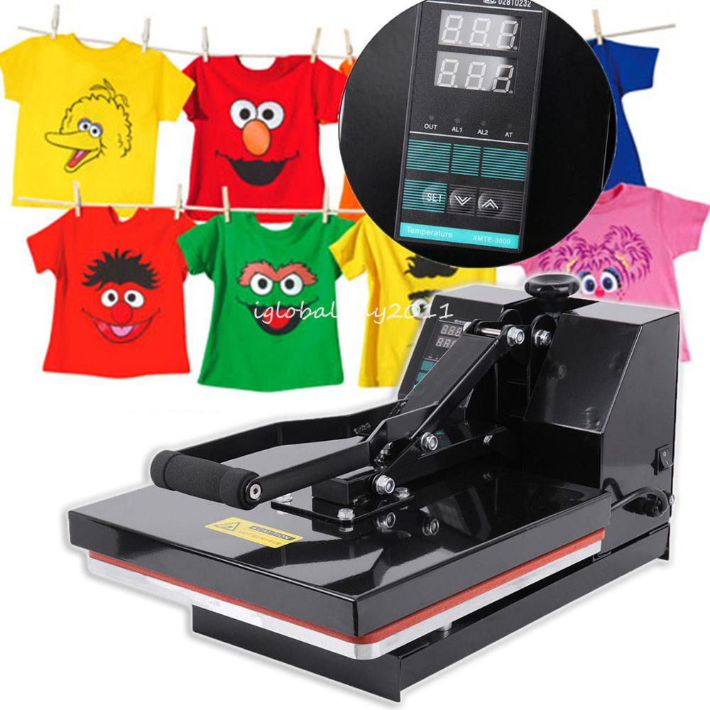 Yonntech 15x15 Inch Heat Press Machine Sublimation Heat Transfer Printer For T-Shirt For Bag Case
