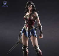 Batman V Superman Wonder Woman Play Arts Kai figure 1/6 scale painted variant Doll Anime PVC Action Figure Collectible Model Toy