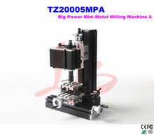 Electroplated Metal type! TZ20005MPA big power mini lathe metal milling machine A