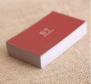 Image 3 - 300 gsm multicolour business card double faced business card quality business card paper business card printing