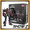 [Mostrar. Z Store] Wei Jiang Weijiang M01-D AOE Danos de Batalha contra a Evasão de Transformação Optimus Prime