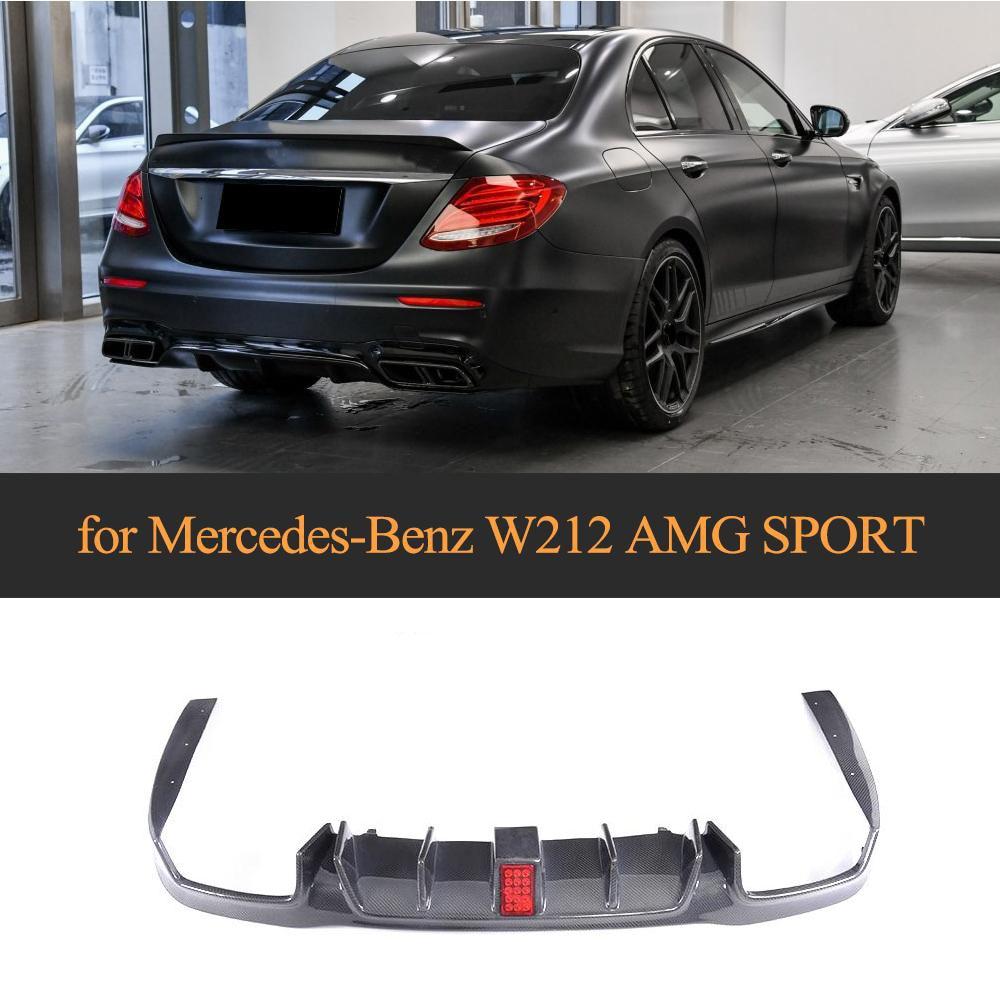 Spoiler Mercedes Benz Klasse e W213 E63 2016-2018 Matt Black