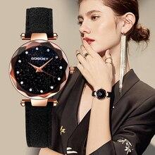 цена Gogoey Women's Watches 2019 Luxury Starry Sky Wrist Watch Top Brand Luxury Ladies Watches For Women Rhinestone bayan kol saati в интернет-магазинах