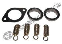 Polaris Sportsman 400 500 Exhaust Gasket and Spring Rebuild Kit 3085075 5243518