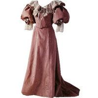 Custom-madeR-705 Vintage Costumes 1860 s Guerre Civile Southern belle Robe de Bal/Gothique robes Victoriennes