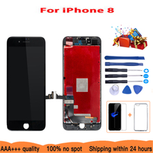 AAA+ For IPhone 8 LCD Touch Display AAA 4.7 Inch Screen Glass Assembly With 3Gifts 2019hot Sale