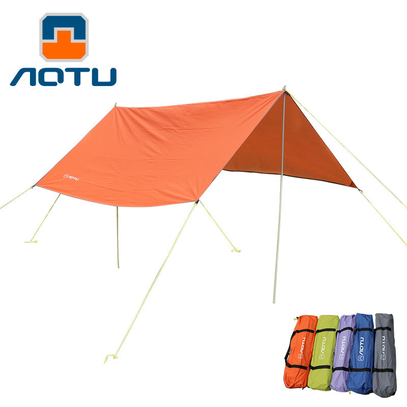 Hiking Walking Travel Tourist Outdoor Tents Awning Canopy Shade Block Rain Mat Camping Tent For Family Camping Equipments outdoor camping hiking automatic camping tent 4person double layer family tent sun shelter gazebo beach tent awning tourist tent