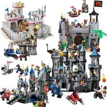 Enlighten Castle Dragon Knights Caribbean Pirate Sets Model Building Kits Blocks Boys Child Kids Toys Bricks Gift