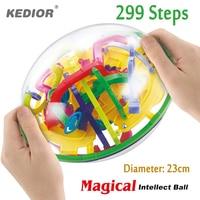 299 Level 3D Magic Maze Ball Magical Intellect Ball Children S Educational IQ Balance Toy Game