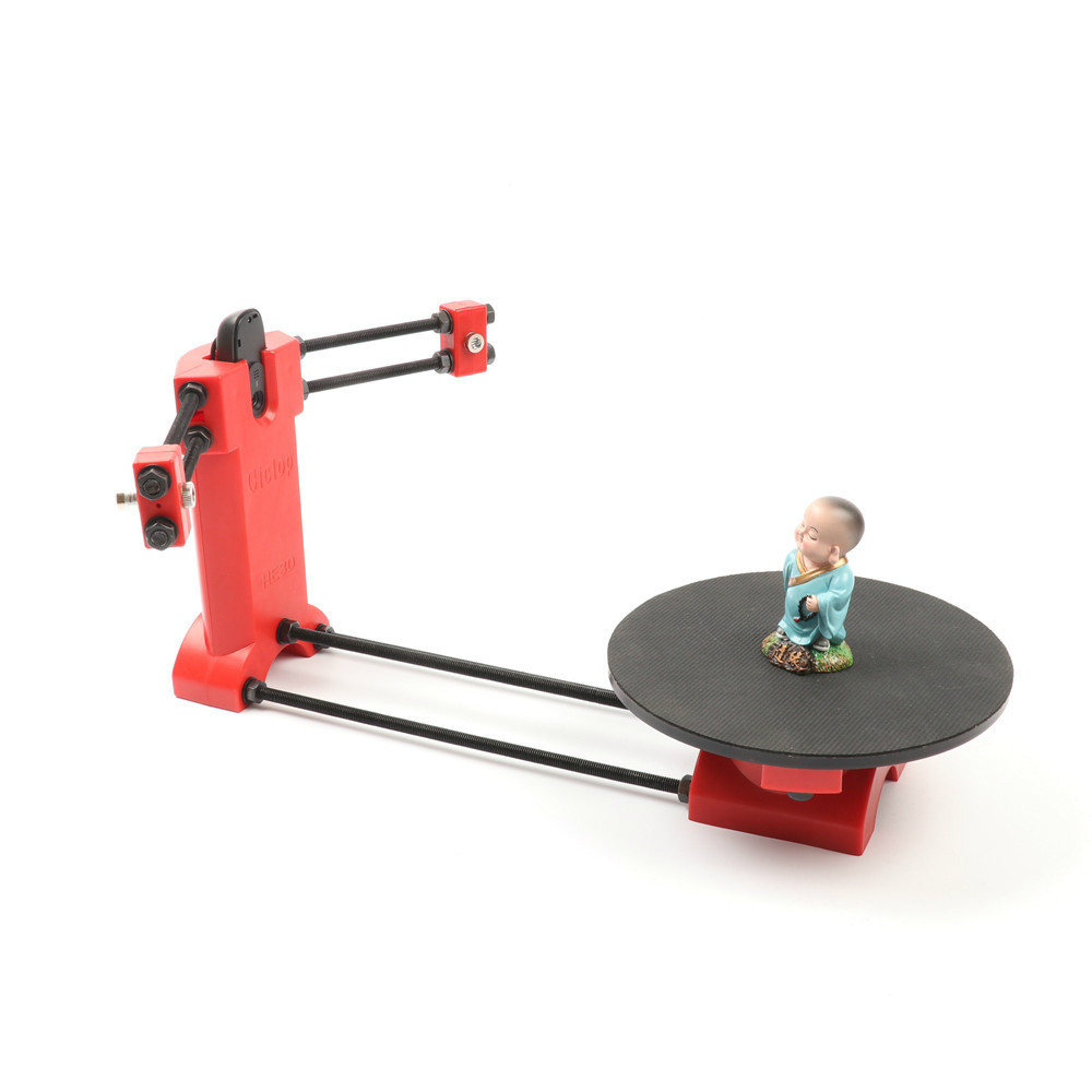 Open source Ciclop DIY 3d scanner kit, support wholesale,more discount