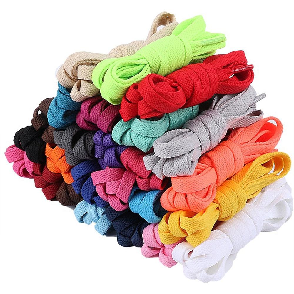 120cm Round Shoelaces 17 Colors Sneaker Shoe  Laces Strings Shoelaces Bootlaces Sport Boot Lace Athletic Shoe String#D
