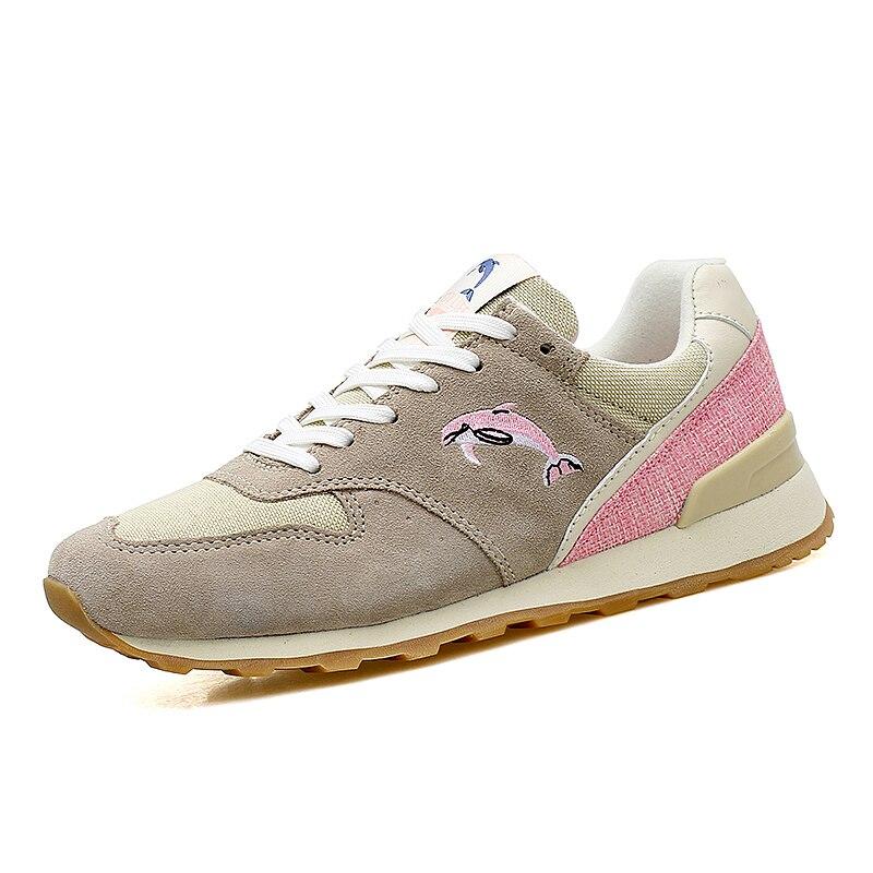 Новый высокое качеств женские кроссовки Женские Кроссовки Спортивная прогулочная обувь дышащая Спортивная обувь Zapatillas Deportivas Mujer