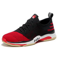 Tenis Masculino 2018 New Men Tennis Shoes Red Sneakers Male Outdoor High Quality Sport Shoes Walking Activities Sneakers Trainer