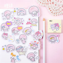 45Pcs/set kawaii Memo pad fashion cute lamb pattern Diary stickers planner Christmas decorations school supplies stationery(China)