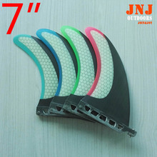 """COLORFUL fitted and strongest stand up paddle board 7"""" sup fins fcs sup table centre fin"""