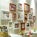 Madera compuesto de fotos de pared moda de la alta calidad combinación marco de la pared 15