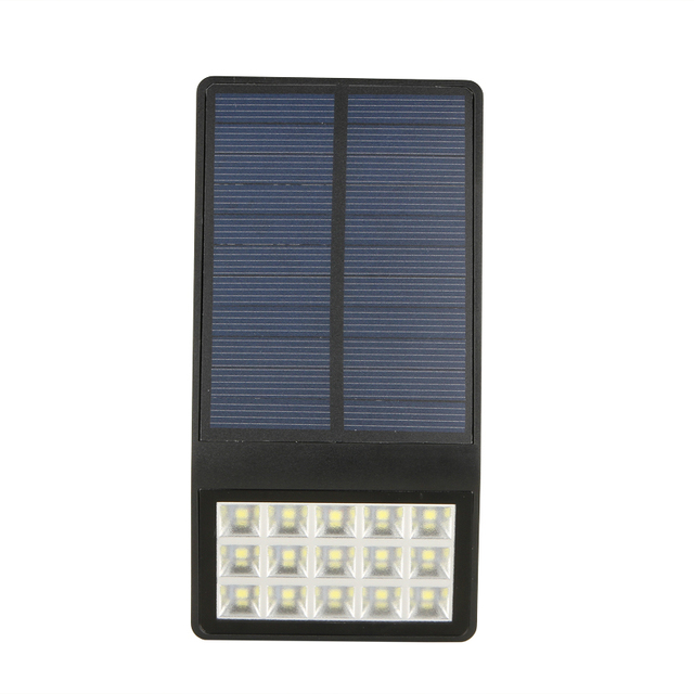 Waterproof IP65 Solar Powered Light Induction 15 LED 6000-6500K Pure White Garden Security Lamp Night Light Outdoor Lighting