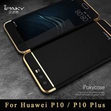 Huawei P 10 чехол оригинальный iPaky Роскошные брендовые Сельма Huawei P10 Plus 3 в 1 предмет жесткий защитный чехол для Huawei P 10 чехол для телефона