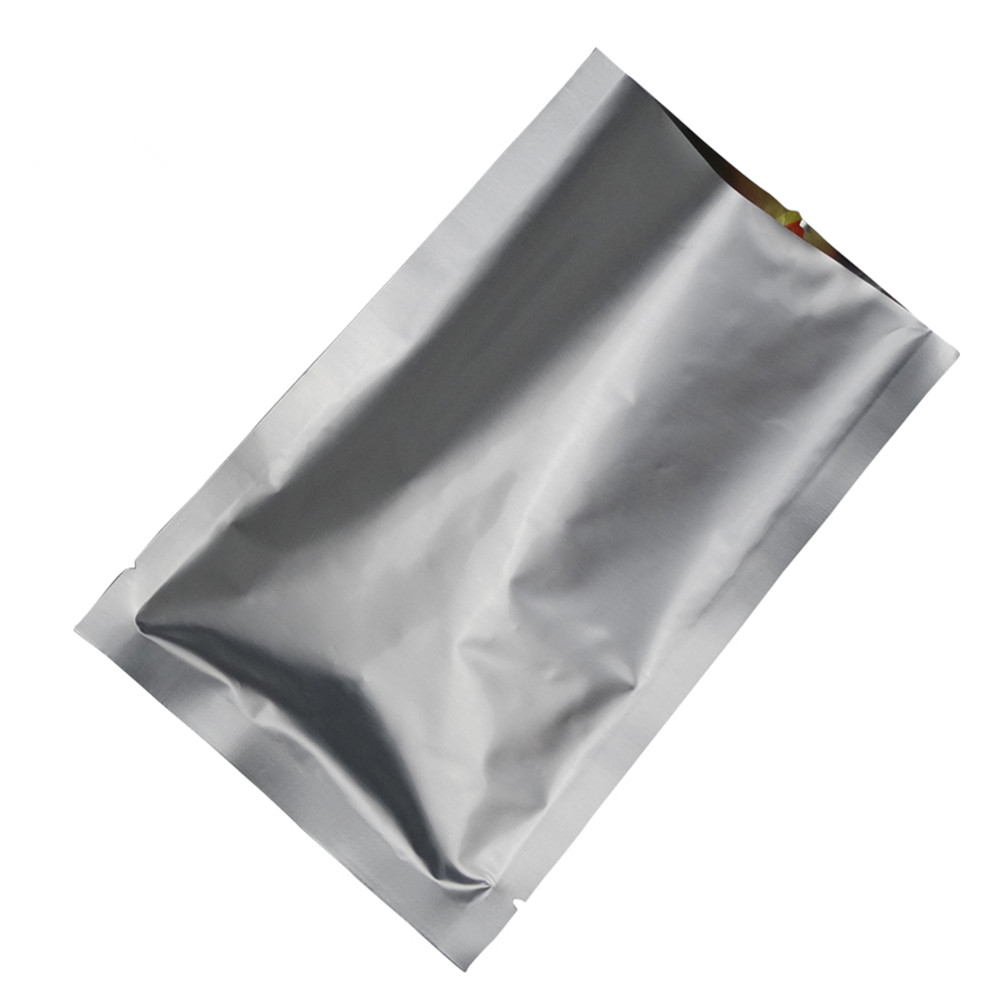 24*37cm 150Pcs/Lot Silver White Pure Aluminum Foil Mylar ...