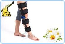 Deluxe Колено Иммобилайзер Rom Регулируемый Угол Коленного Шарнира Brace для Восстановления Функции Ортопедические Колено Поддержки Коленного Ортеза шины