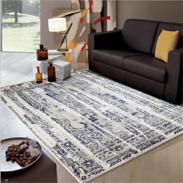 Tapis doux plus épais de Style de dinde pour des tapis de chambre d ...