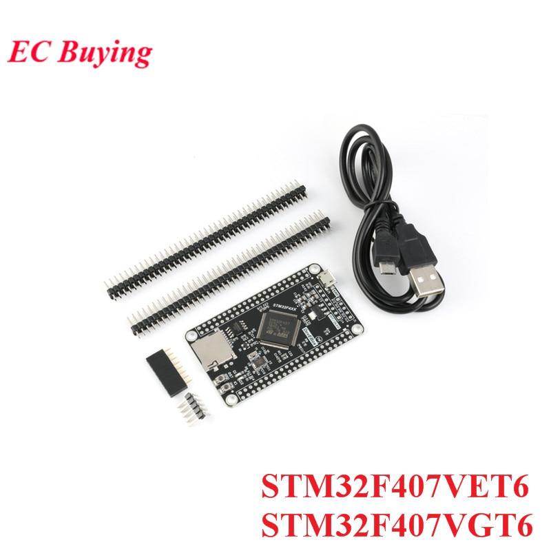 STM32F407VET6 STM32F407VGT6 STM32 System Board Development Board F407 Single-Chip Learning BoardSTM32F407VET6 STM32F407VGT6 STM32 System Board Development Board F407 Single-Chip Learning Board