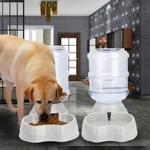 Honsene-автоматическая кормушка для кошки, дозатор воды для собак, 1 Gal автокормушка для домашних животных водяной