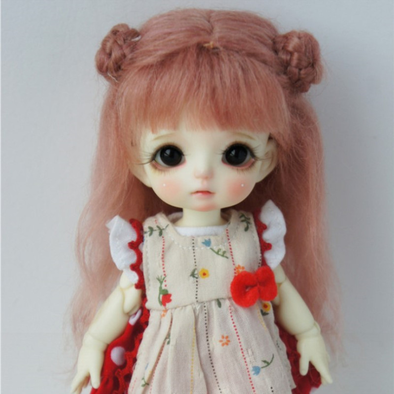 8 BJD Doll Wig Mohair Material For 5 To 6 Inch Head Circumference Doll Head