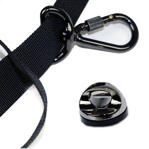 Image 3 - 高品質フォーカスF 1 クイックスピードソフトショルダーネックストラップため眼レフブラック