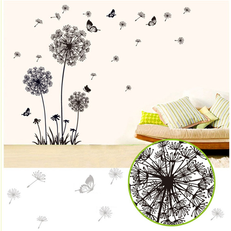Online buy wholesale b f wallpaper from china b f wallpaper wholesalers ali - Stickers muraux deco ...