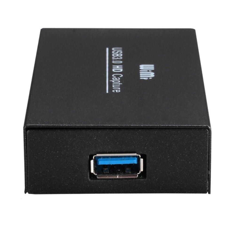 WIMI EC288 Captura USB 3.0 HD 1080 P 60Hz 16-bit Jogos de Telefone Caixa de Captura de Vídeo para OBS reunião para XSplit Captura De Vídeo Dongle