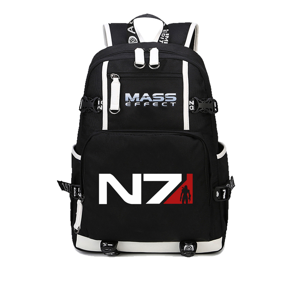 Game Mass Effect 3 N7 backpack casual backpack teenagers student book Bags travel Shoulder Bag Laptop Bags Men women's backpack zelda laptop backpack bags cosplay link hyrule anime casual backpack teenagers men women s student school bags travel bag