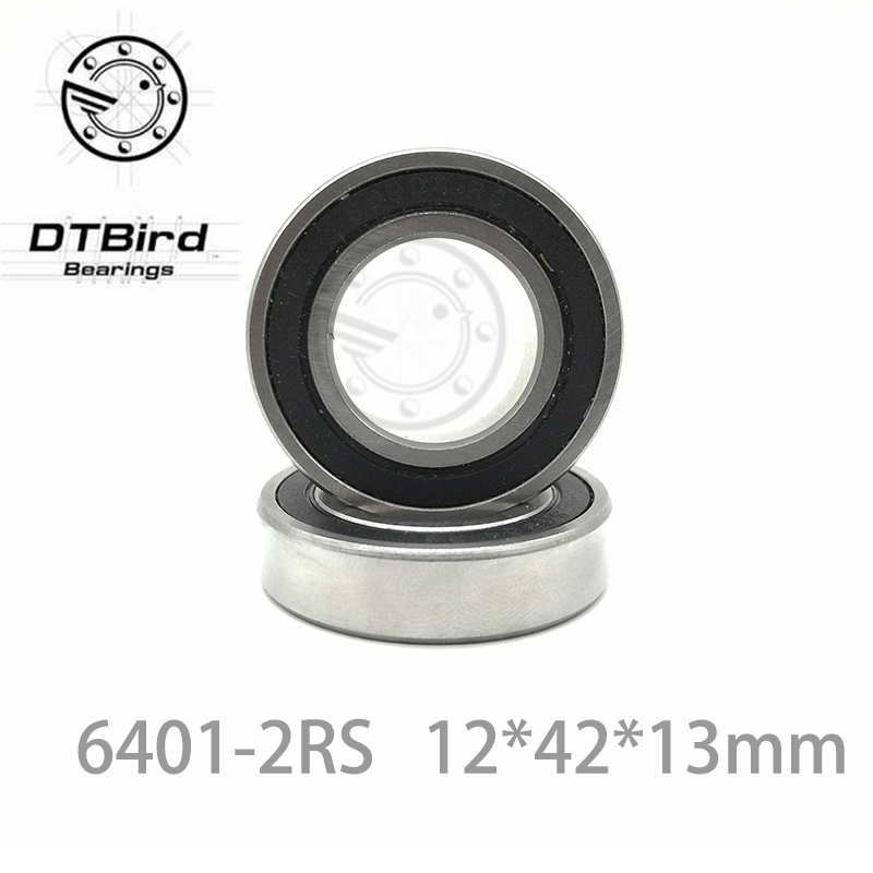 6401-2rs 6401 2rs 12x42x13mm Mini Ball Bearing Miniature Bearing Deep Groove Ball Bearing Brand New 12*42*13 MM 6401 bearing size 12 x 42 x 13 mm 2 pcs heavy duty deep groove ball bearings 6401rs 6401 2rs