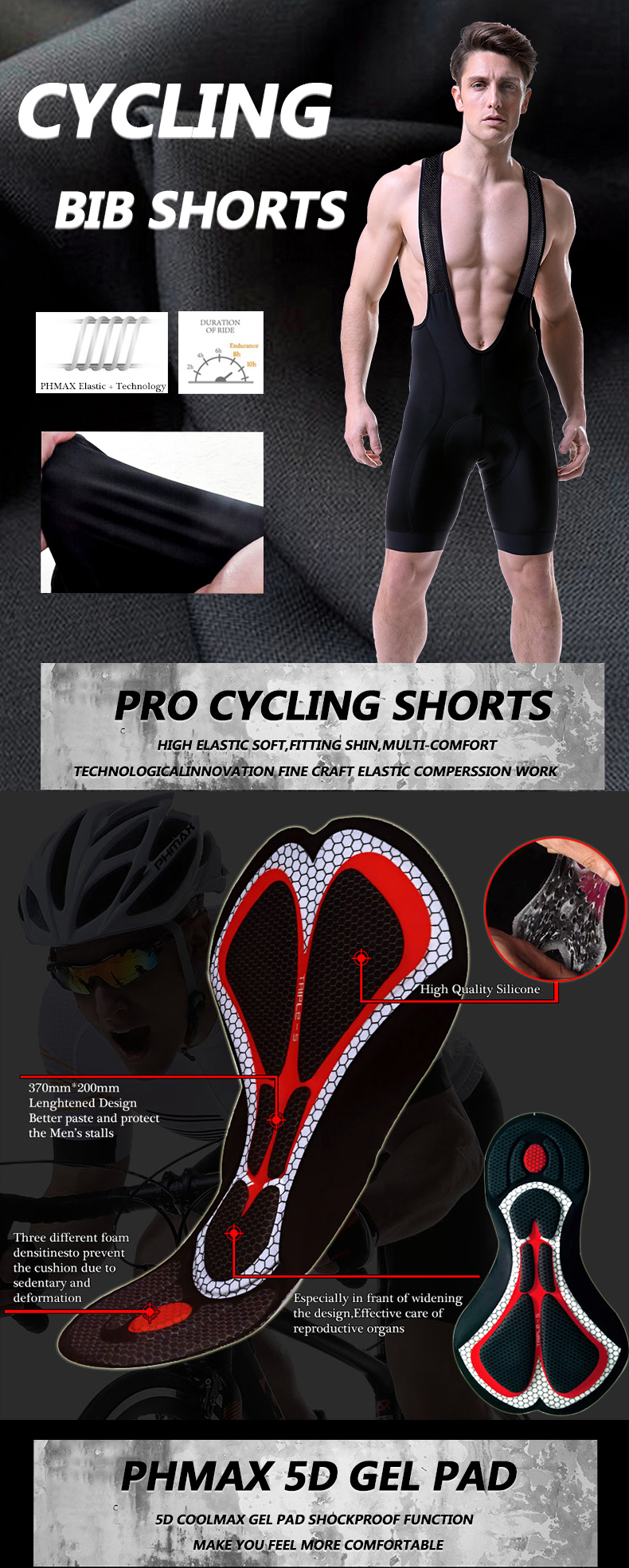 HTB1utxubMaH3KVjSZFjq6AFWpXah PHMAX Pro Cycling Clothing Men Cycling Set Bike Clothes Breathable Anti UV Bicycle Wear Short Sleeve Cycling Jersey Set For Mans