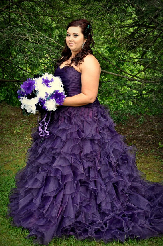 cecelle plus size ball gown sweetheart colorful purple