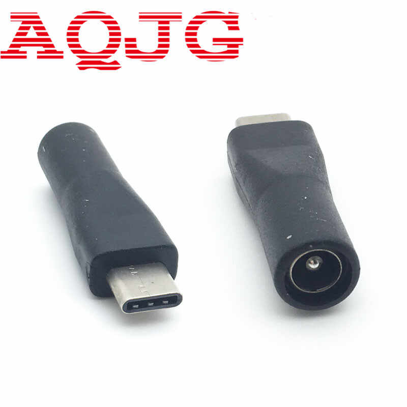 Cables Occus 1pcs 5.52.1mm 5.5 x 2.1 mm Female Jack to Type-C USB 3.1 Male Plug 90//180 Degrees DC Power Connector Adapter Cable Length: Straight