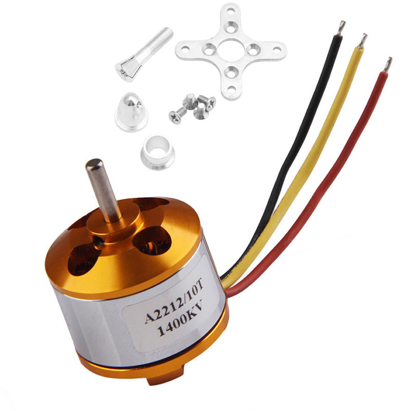 A2212 1400kv Outrunner Brushless Motor Mount 10T Airplane Aircraft Quadcopter Helicopter Drone  цены