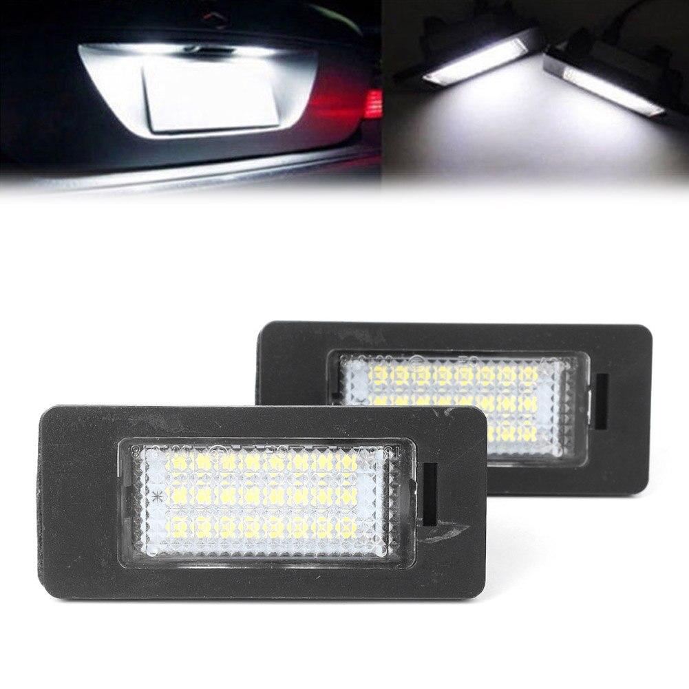 NEW GENUINE OEM BMW 1 3 5 Series E88 E82 E90 E91 LED License Plate Light LH=RH