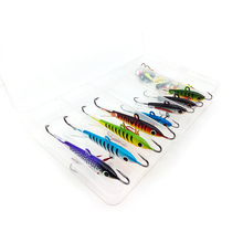 Vissen Ice Fishing Lure 26 pcs Ice Jig Hooks For Walleye Winter Fishing Lures ice jigging Winter Fishing